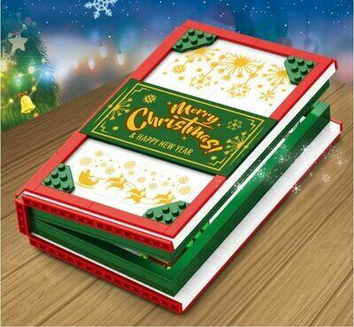 聖誕節樂高積木書