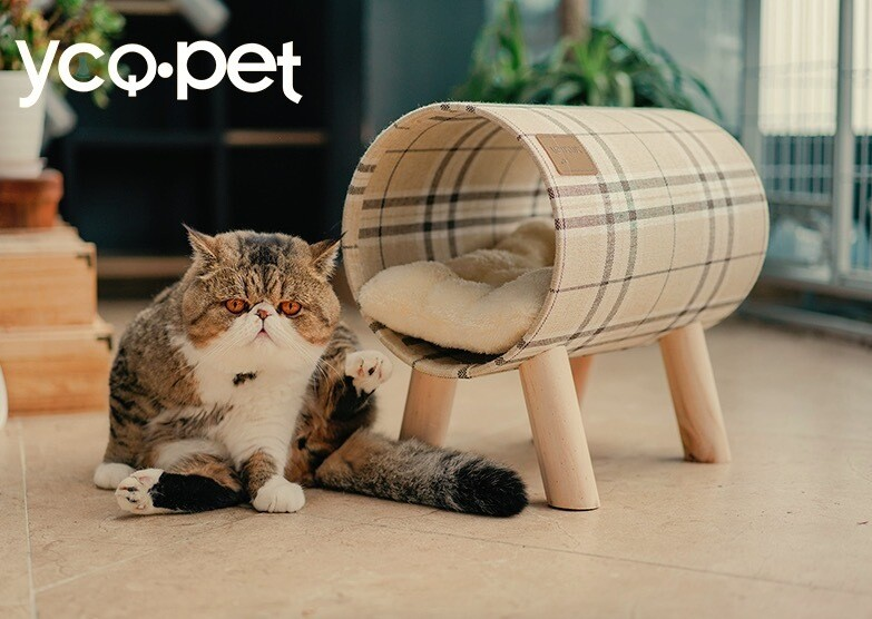 捲筒造型貓窩