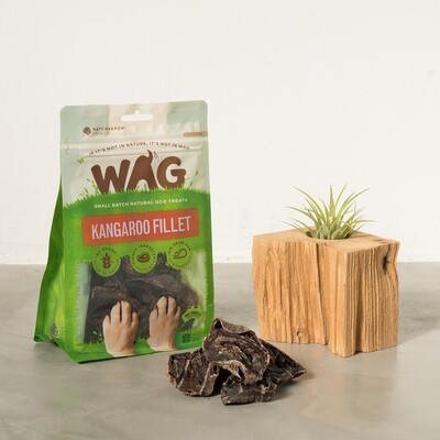 WAG 天然澳   袋鼠心片   堅硬營養