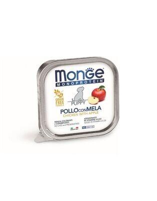 MONO蔬果 幼犬 雞肉+蘋果 無穀主食犬餐盒(一箱24入)