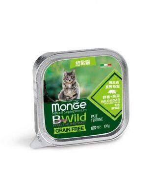 真野無穀 結紮貓 野豬+蔬菜 主食貓餐盒 (一箱32入)