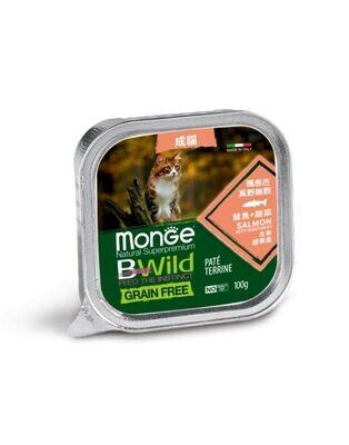 真野無穀 鮭魚+蔬菜 主食貓餐盒 (一箱32入)