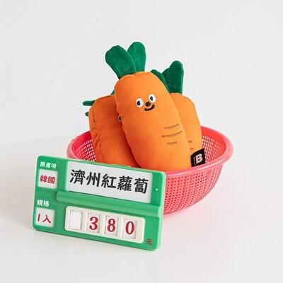 韓國【BITE ME】濟州紅蘿蔔 木天蓼玩具