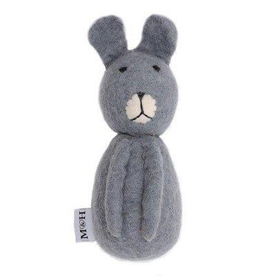 小兔兔玩具 - 純羊毛材質