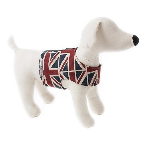 英國旗棉麻材質胸背帶