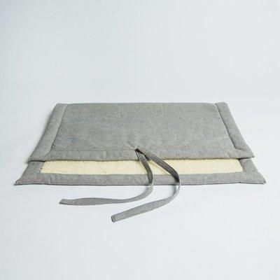 Tweed Gray - 捲式行動床墊  (羊毛)