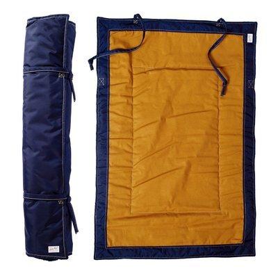 Gunnar - 海洋藍捲式行動床墊 (防水)