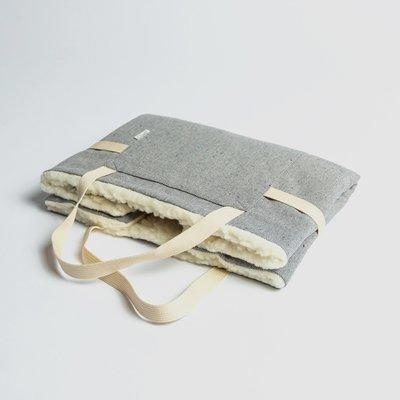 Tweed Gray - 折疊式行動床墊 (羊毛)