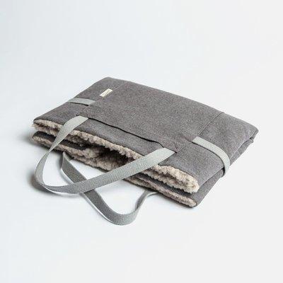 Tweed Taupe - 折疊式行動床墊  (羊毛)