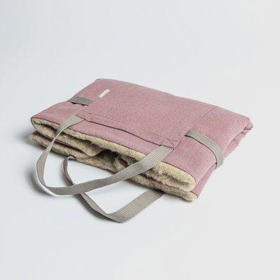 Tweed Rose - 折疊式行動床墊  (羊毛)