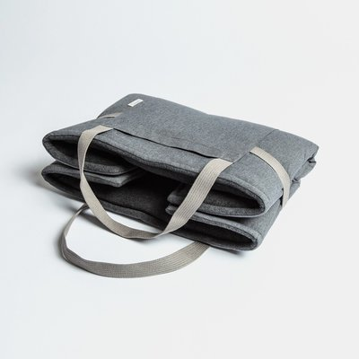 Mid Gray - 折疊式行動床墊 (防水)