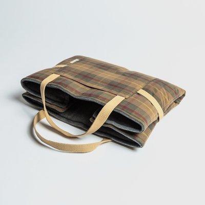 Waxed Tartan - 折疊式行動床墊 (加厚)