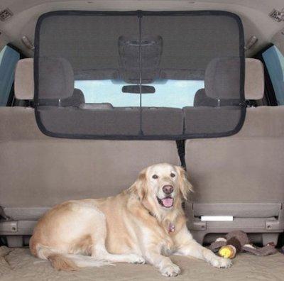 SUV後備箱屏障