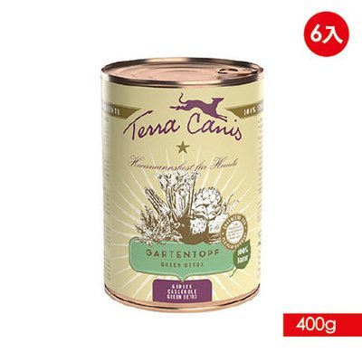 TERRA CANIS 醍菈鮮廚 - 陽光鮮蔬果系列《清爽鮮蔬燴香草》『400g/6罐裝』