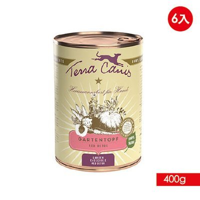 TERRA CANIS 醍菈鮮廚 - 陽光鮮蔬果系列《香甜蔬果燴香草》『400g/6罐裝』