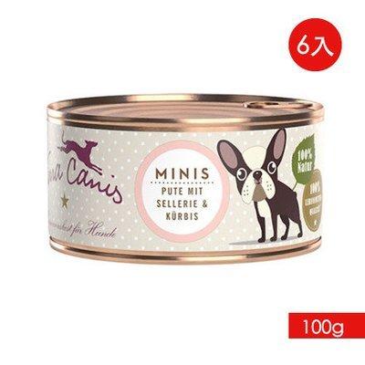 TERRA CANIS 醍菈鮮廚-小型挑嘴犬無穀鮮食系列《火雞鮮蔬佐玫瑰果》『100g/6罐裝』