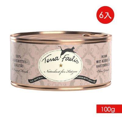 TERRA CANIS 醍菈鮮廚《雞南瓜佐貓薄荷》『100g/6罐裝』