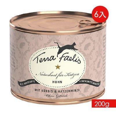 TERRA CANIS 醍菈鮮廚《雞南瓜佐貓薄荷》『200g/6罐裝』