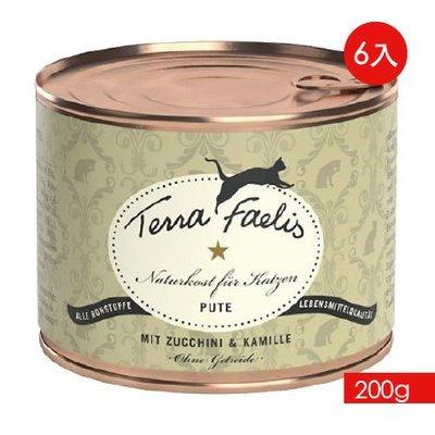 TERRA CANIS 醍菈鮮廚《火雞甘菊佐貓薄荷》『200g/6罐裝』