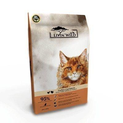 Livin'Wild 野宴-紐西蘭天然寵糧-全齡貓放養無穀配方《放養雞&放養火雞》4lb/1.8kg