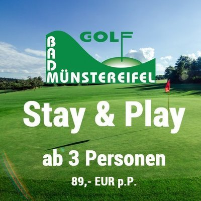 Stay & Play Golf Bad Münstereifel (ab 3 Personen)