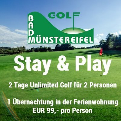 Stay & Play Golf Bad Münstereifel (2 Personen)