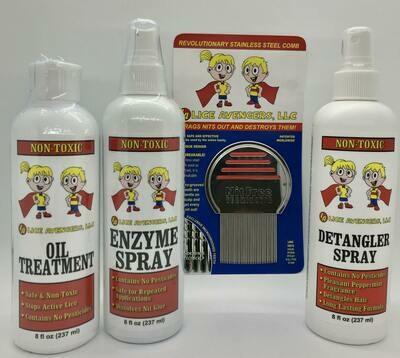 Lice Avengers Urgent Care Treatment Kit