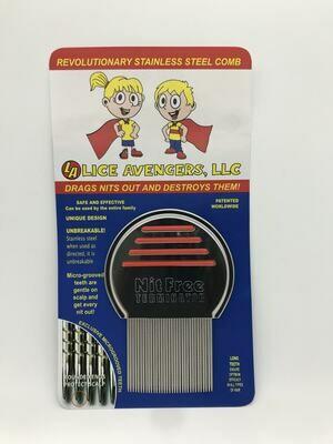 Lice Avengers Terminator Comb