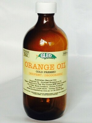Pure Australian Orange Oil 200ml
