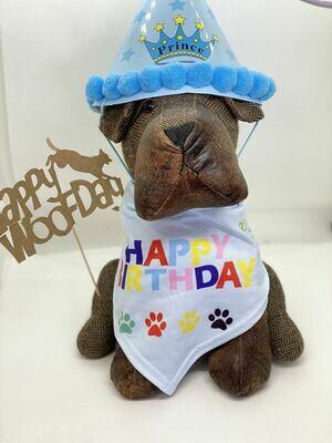 Birthday Bandana & Hat