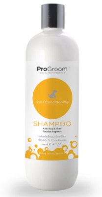 Pro Groom 2in1 Conditioning Shampoo 500ml