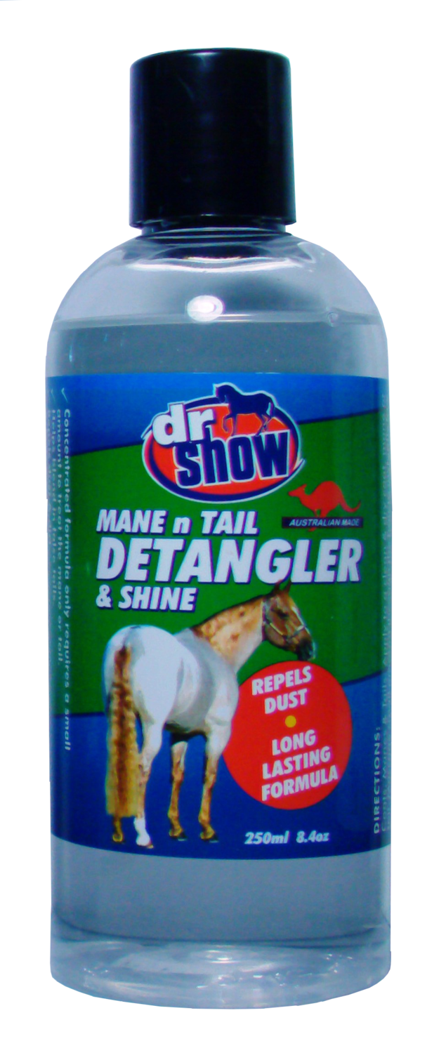 Dr Show Mane & Tail Long Haired Dog Detangler 250ml