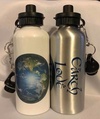 Earth Love Water Bottle