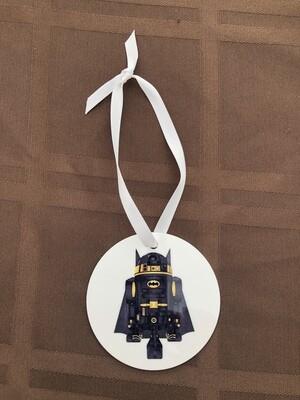 R2D2 Batman Ornament