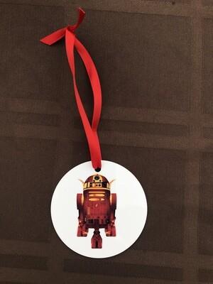 R2D2 Flash Ornament