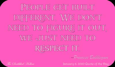 Built Different - Princess Bubblegum Magnet - Jan 6th Quote