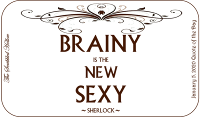 Brainy is the new Sexy Magnet - Jan 5th Quote