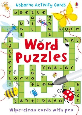 Word Puzzles Activity Cards