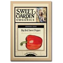 Big Red Sweet Pepper