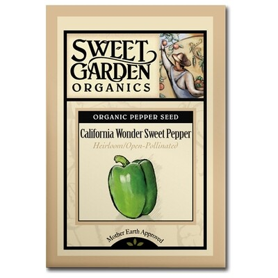 California Wonder Sweet Pepper