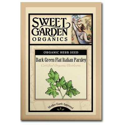 Dark Green Flat Italian Parsley