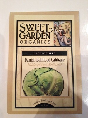 Danish Ballhead Cabbage