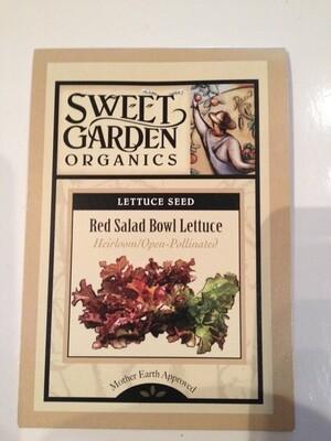 Red Salad Bowl Lettuce