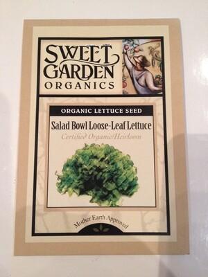 Salad Bowl Loose-Leaf Lettuce