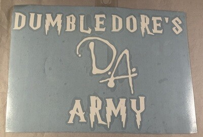 Dumbledore's Army Vinyl Sticker