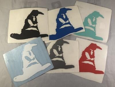 Sorting Hat Vinyl Sticker