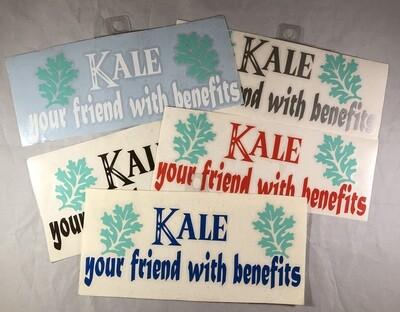 Kale Your Friend with Benefits Vinyl Sticker