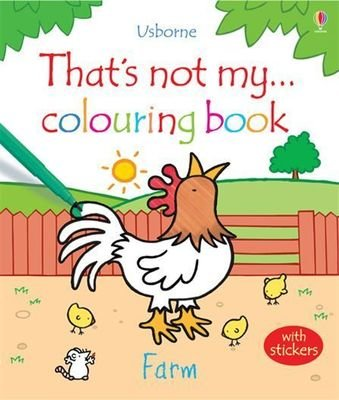 That's not my ... coloring book - Farm