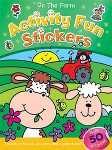 On the Farm Activity Fun Stickers