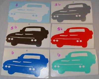 1967 Chevy Impala - Baby Vinyl Sticker